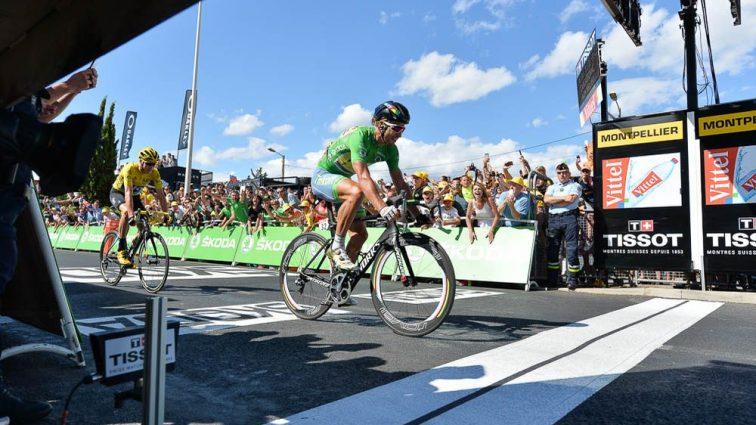 Tour de France. Саган выиграл безумный этап, Фрум шокировал соперников на равнине