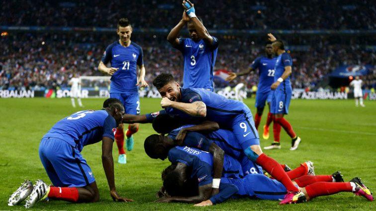 Немецкие СМИ заподозрили сборную Франции в употреблении допинга