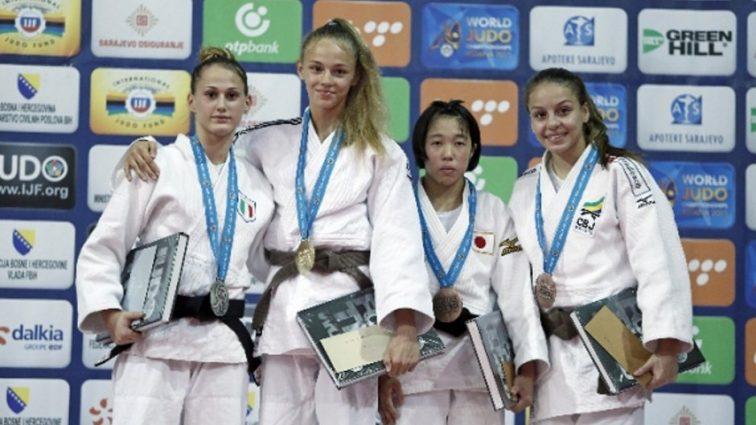 Украинская дзюдоистка завоевала «серебро»