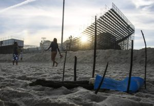 HUMAN REMAINS FOUND NEAR VOLLEYBALL ARENA IN RIO DE JANEIRO