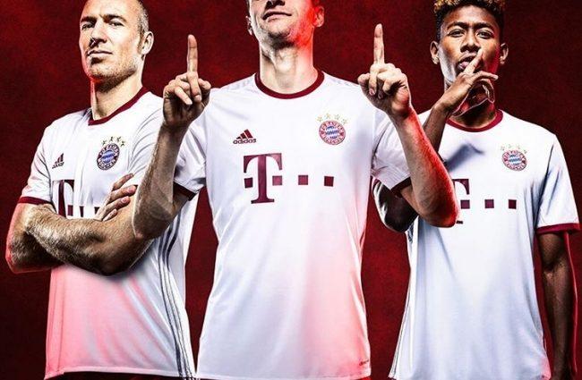 Adidas показал резервные формы для топ-клубов Европы