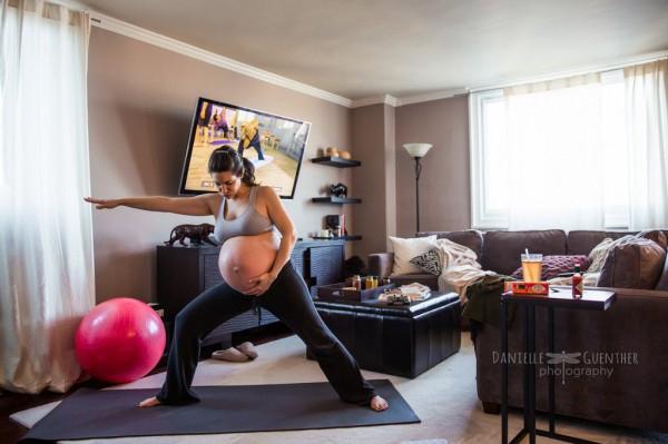 Фотограф показала жизнь беременных во всей «красе»