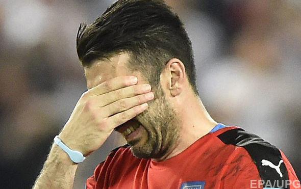 Буффон трогательно попрощался с болельщиками после вылета из Италии Евро-2016