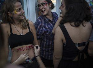 'March of the Whores' in Rio de Janeiro