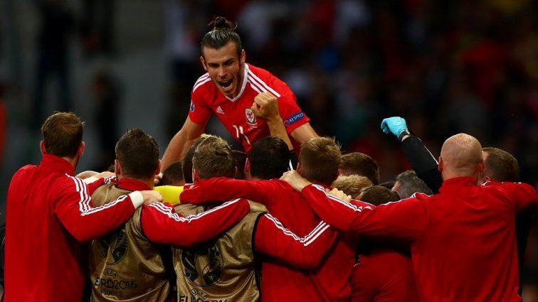 Первый тайм между Уэльсом и Бельгией закончился ничьей