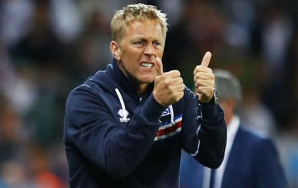 Стало известно имя нового тренера сборной Исландии