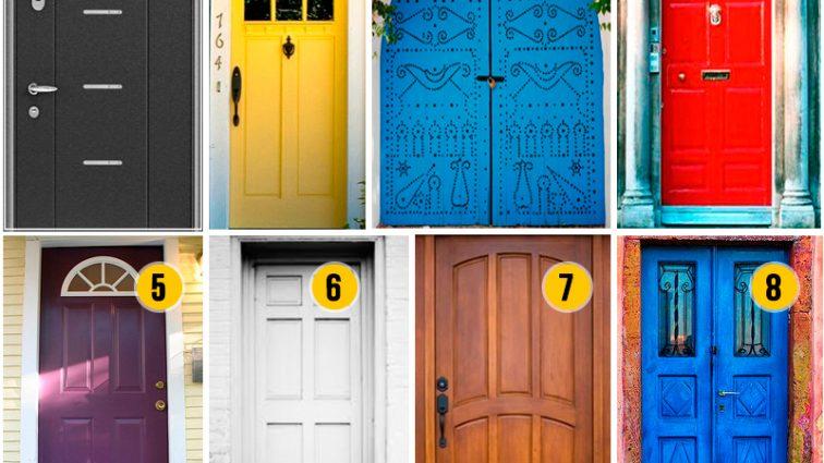 Выберите дверь и узнайте кое-что новое о себе