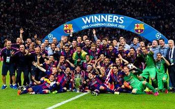 Необычная тренировка «Барселоны» (Видео)