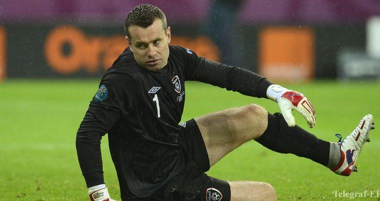 Легендарный ирландский вратарь завершил карьеру в сборной