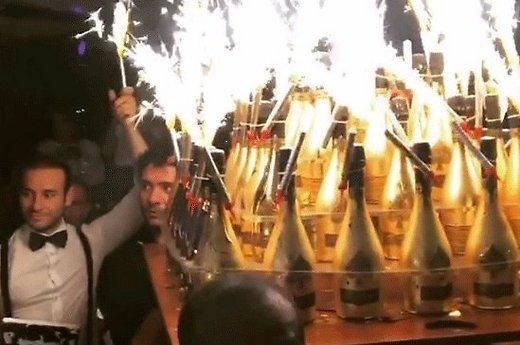 Как российские футболисты распивали шампанское за 250 тыс долл. во время Евро-2016 (видео)