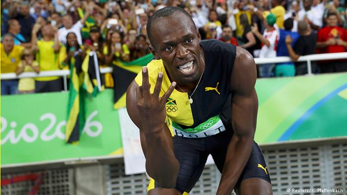 «Тройной трипл»: Болт взял на Играх в Рио третье золото