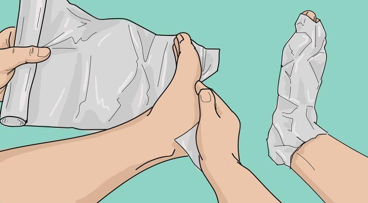 Оберни ноги фольгой в несколько слоев. То, что случится через 1 час, удивит твоего врача!