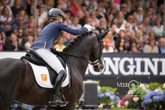 Голландская всадница Корнелиссен снялась с соревнований из-за болезни лошади