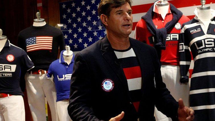 Как американцы создали спортивную форму для олимпийцев с российским триколором