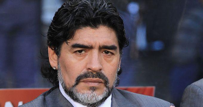 Марадона признал своего внебрачного сына