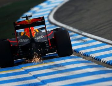 Призеры Гран-при Германии повредили болиды