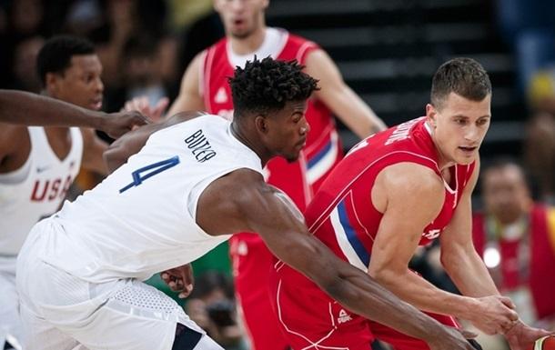 Баскетбол. Сборная США с трудом обыгрывает сербов, Франция уничтожает Венесуэлу