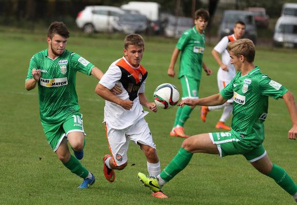 Як «Динамо» обіграло «Шахтар» у першості U-19