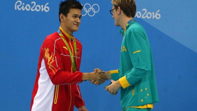 Олимпиада-2016: Китай и Австралия сцепились в интернете через допинг пловца