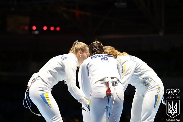 Львовские шпажистки восьмые на Олимпиаде в Рио