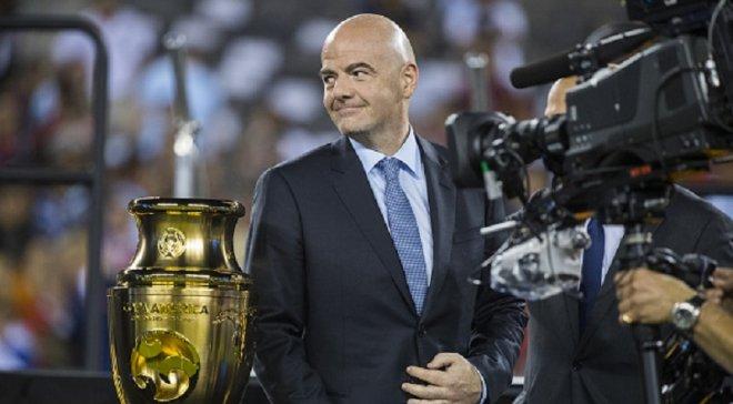 ФИФА сняла все подозрения с Инфантино