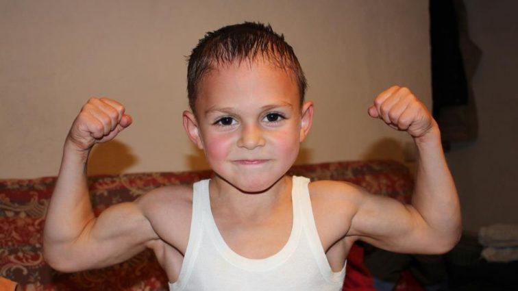 Самый сильный ребенок  в мире