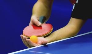 Спортсмен выполнил магический удар в настольном теннисе