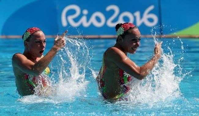 Синхронное плавание: украинские олимпийки остановились в шаге от медалей