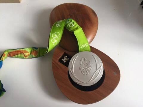 Олимпийская медаль поможет ребенку