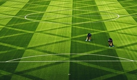 Чудо геометрии: футбольное поле Лестера поразило фанатов