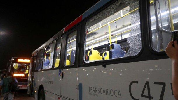 В Рио атаковали автобус с журналистами: есть раненые