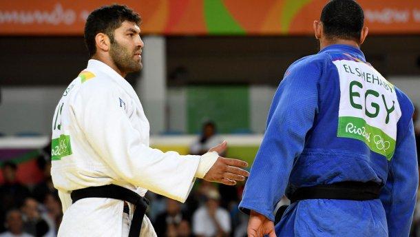 Египтянина выгнали с Олимпиады за неджентльменську поведение