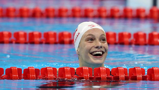 Канадка украинского происхождения завоевала четыре медали в плавании на Олимпиаде