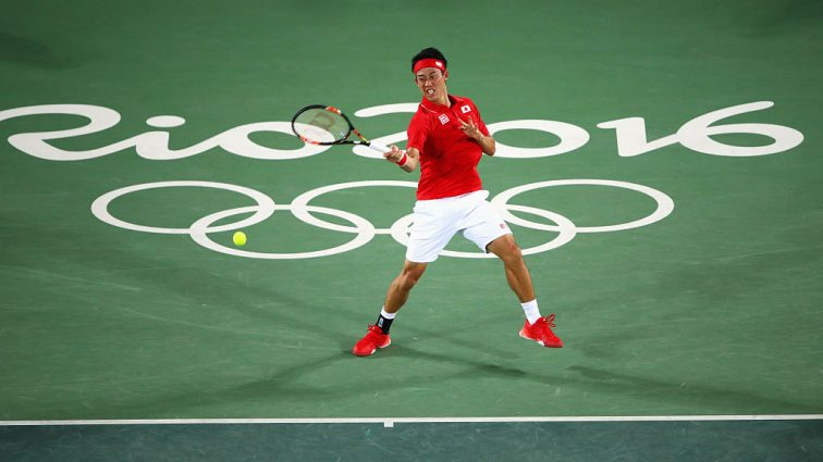 Нишикори прошел в третий круг олимпийского турнира