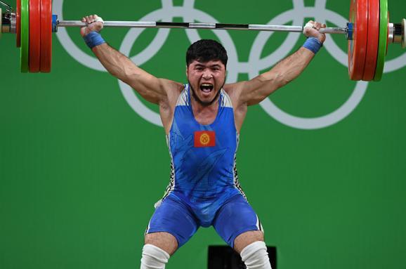 Допинговый скандал в Рио. У кыргызского тяжеловеса забрали бронзовую медаль