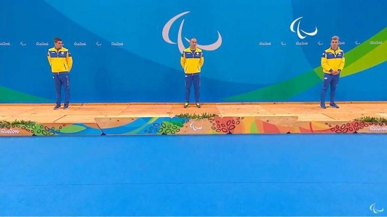 Украинские пловцы завоевали все медали в заплыве на Паралимпиаде