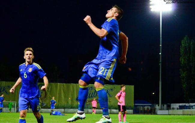 Украинская «молодежка» разгромила Шотландию в отборе на Евро