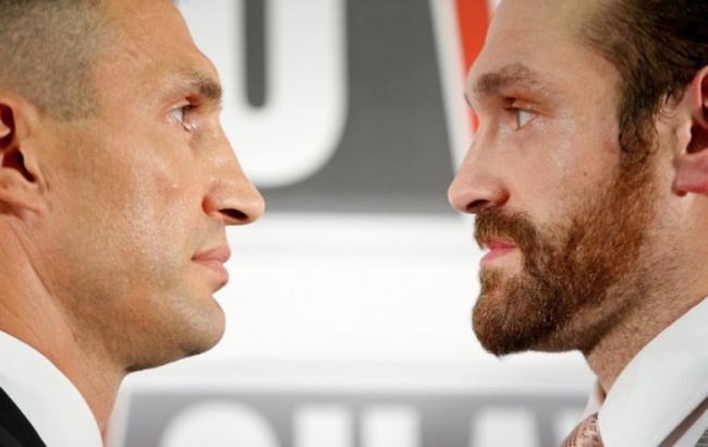 Владимир Кличко и Тайсон Фьюри проведут бой 29 октября в Англии