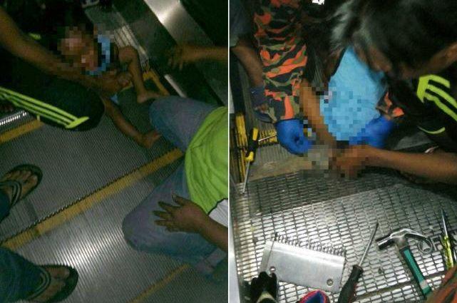3-летний мальчик сидел на ступеньках эскалатора. То-то произошло дальше шокирует каждого