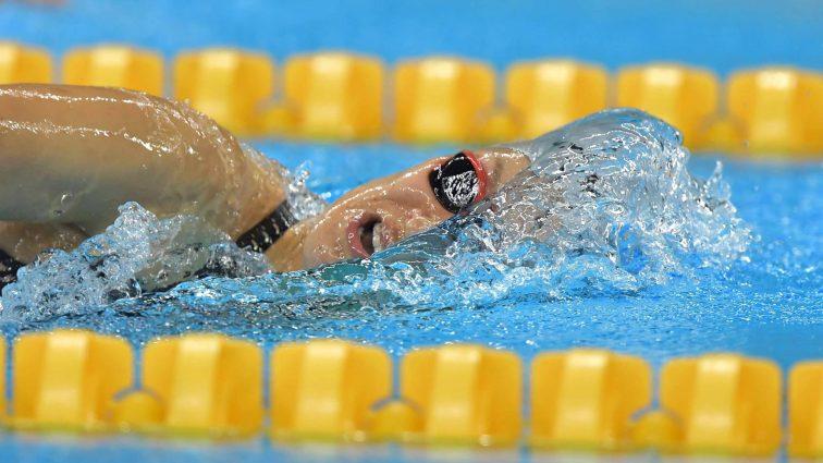Рио-2016: Украинец завоевал бронзу в плавании вольным стилем