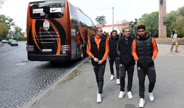 Как «Шахтер» прогулялся по Львову перед матчем с «Брагой»
