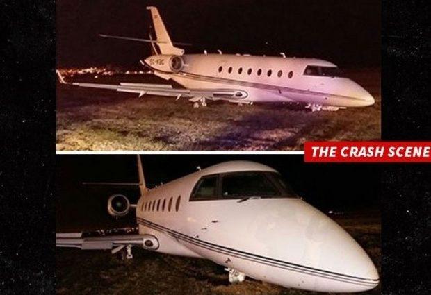 Ужасная катастрофа: самолет Роналдо разбился в Барселоне