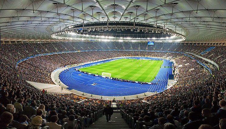 НСК Олимпийский вошел в 5-ку крупнейших стадионов Лиги чемпионов