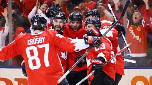 Канада обыграла Европу в хоккей