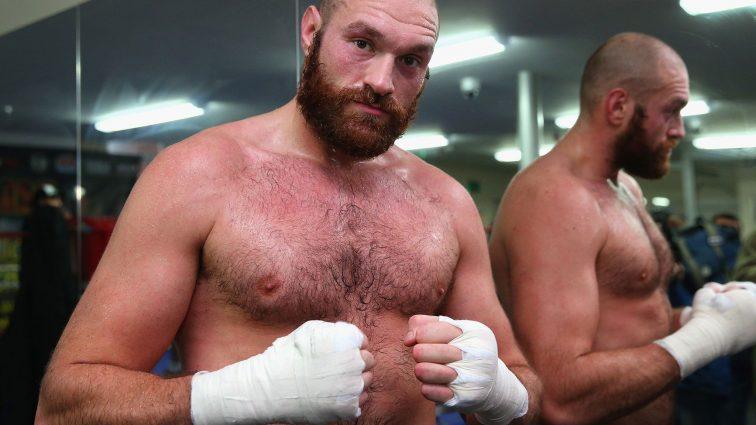 Тайсон Фьюри не выйдет на боксерский ринг в 2016 году