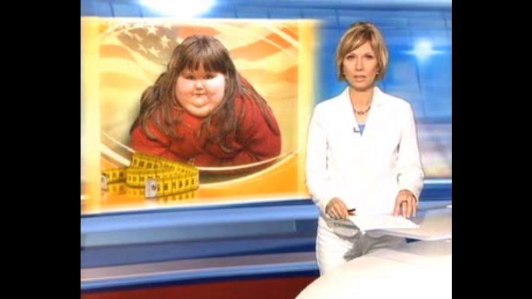 Мать раскормила дочку до 220 килограммов: девочка уже не может ходить