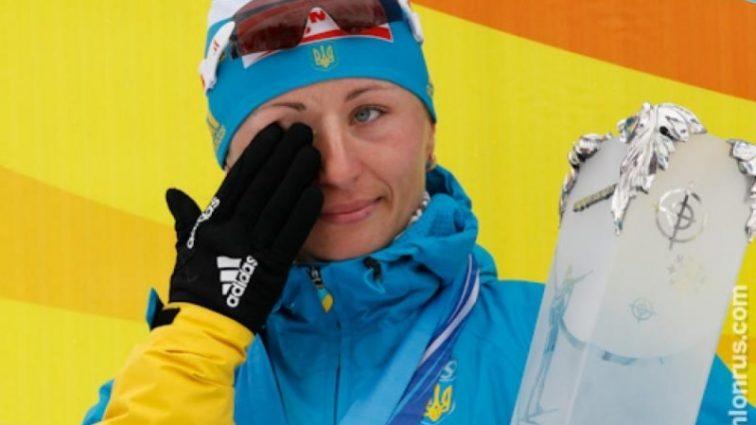 Украинская бронзовая чемпионка родила сына