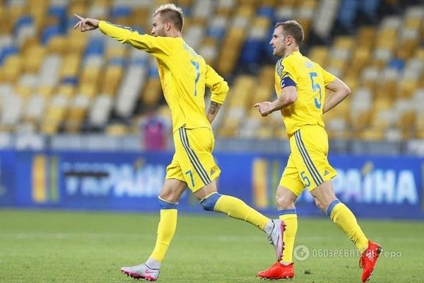 Сборная Украины поднялась в рейтинге ФИФА, оторвавшись от России