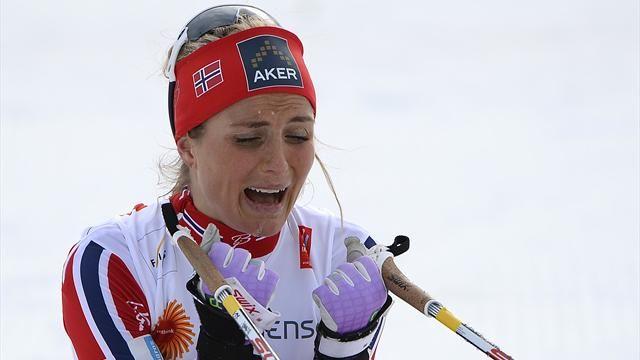 Знаменитая лыжница Тереза Йохауг временно дисквалифицирована на два месяца