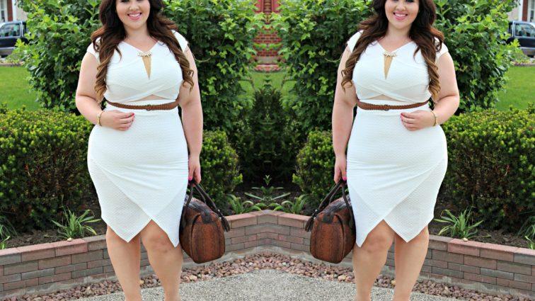 Обычное платье может изменить твою жизнь: как подчеркнуть фигуру полненьким женщинам
